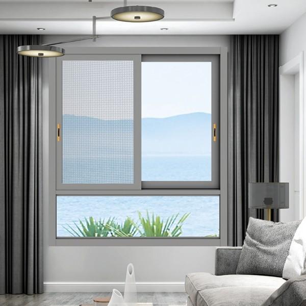 封阳台推拉窗-伊盾门窗-东风一号
