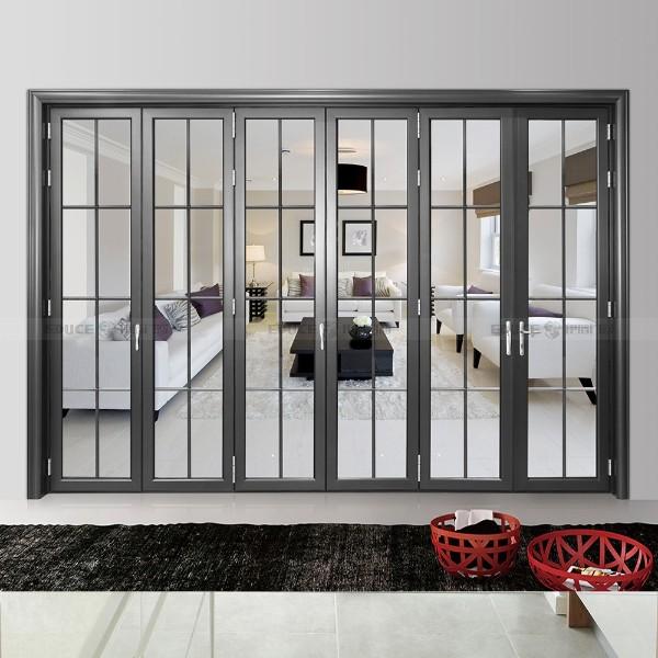 会议室隔断折叠门-伊盾门窗-埃菲尔折叠门
