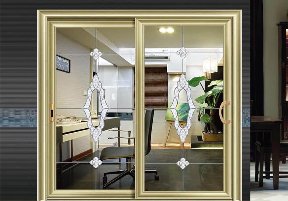 别墅厨房欧式推拉门用什么玻璃