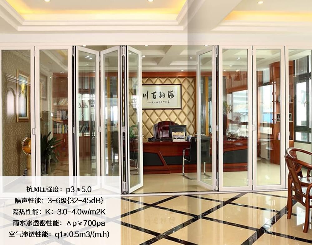 Y办公室折叠门产品参数