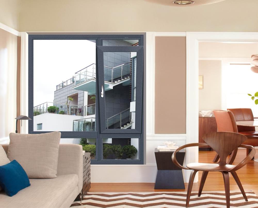 客廳平開窗|陽臺客廳隔斷窗|客廳餐廳玻璃隔斷窗