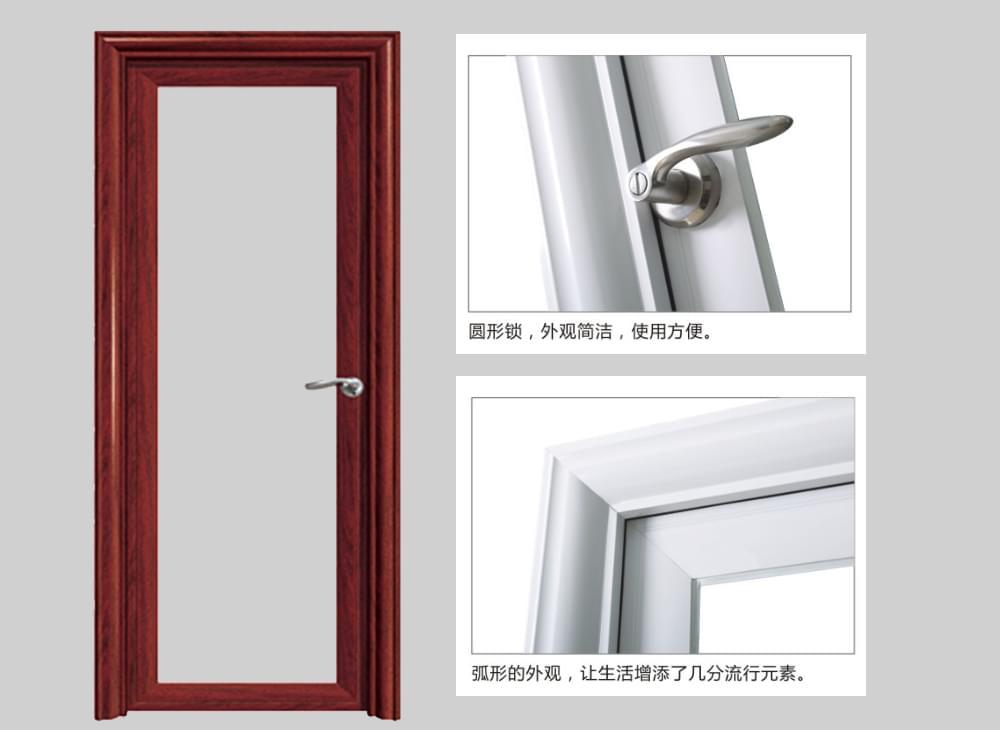 银弧平开门产品描述
