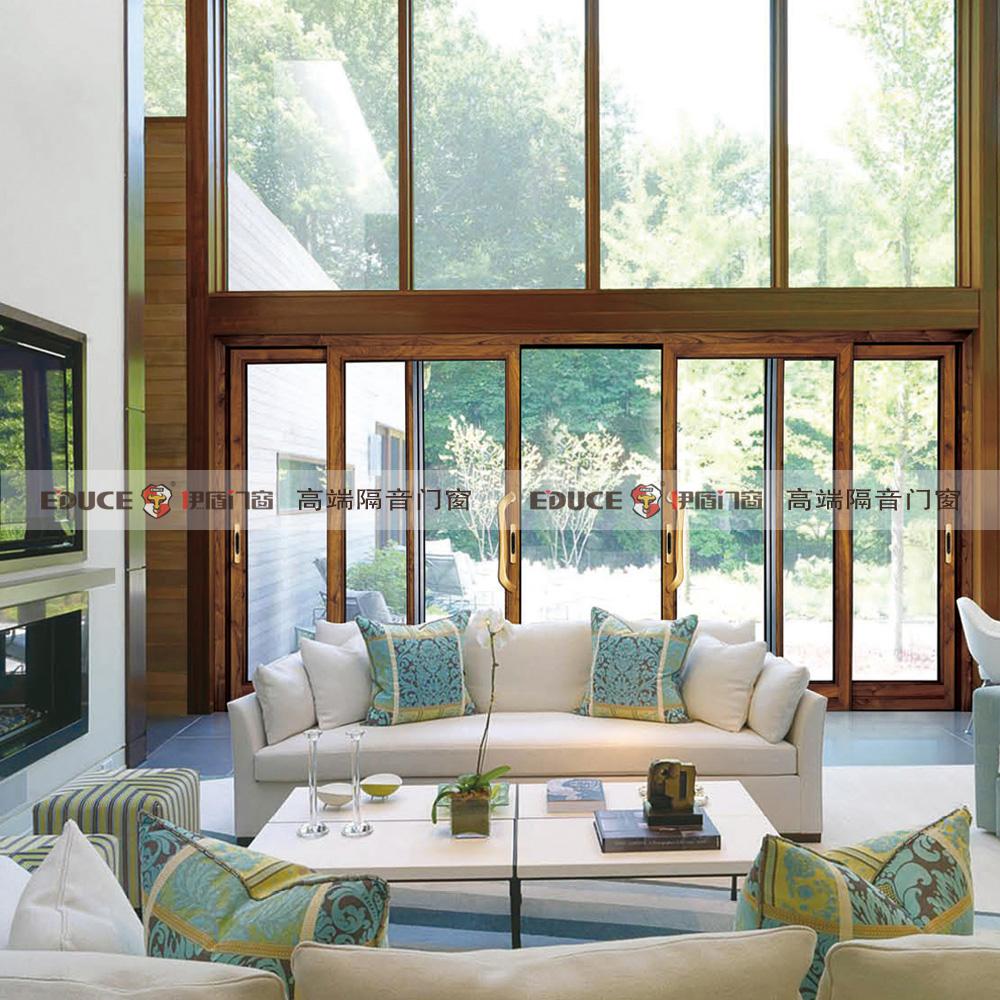 伊盾门窗铝木系列